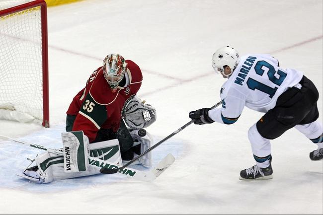 San Jose Sharks vs. Minnesota Wild - 12/11/14 NHL Pick, Odds, and Prediction