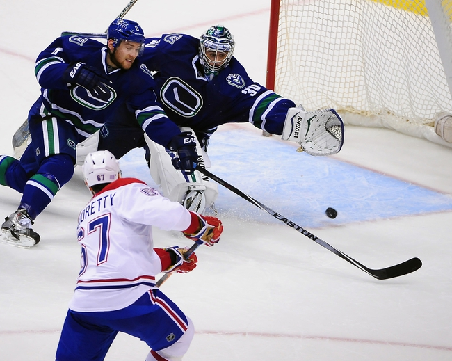 Canadiens vs. Canucks - 12/9/14 NHL Pick, Odds, and Prediction