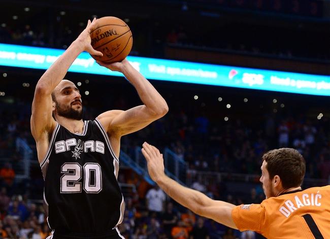 San Antonio Spurs vs. Phoenix Suns - 1/9/15 NBA Pick, Odds, and Prediction