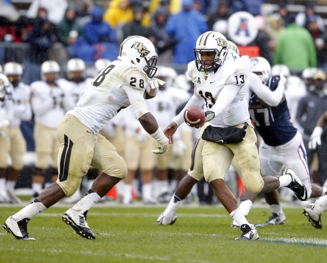 Central Florida Knights vs. Tulsa Golden Hurricane - 11/14/14 College Football Pick, Odds, and Prediction