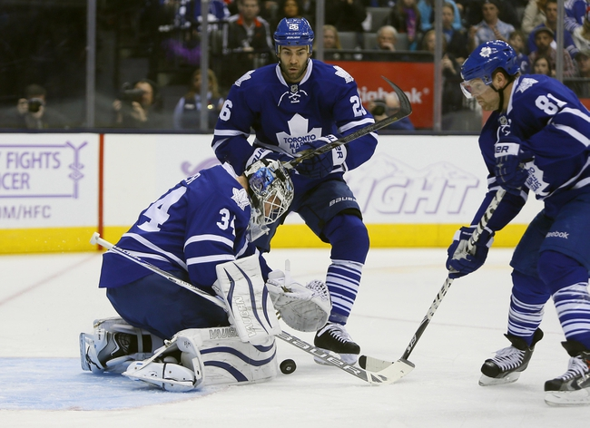 Arizona Coyotes vs. Toronto Maple Leafs - 11/4/14 NHL Pick, Odds, and Prediction