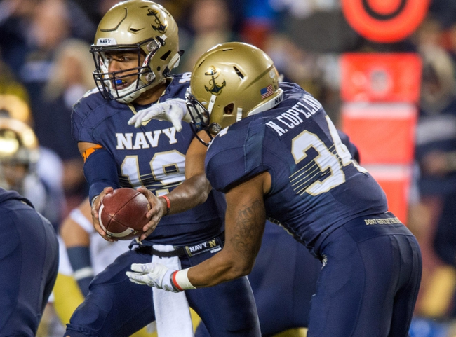 Navy Midshipmen vs. Ga Southern Eagles - 11/15/14 College Football Pick, Odds, and Prediction