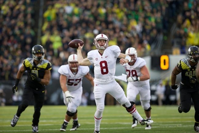 Oregon at Stanford - 11/14/15 College Football Pick, Odds, and Prediction