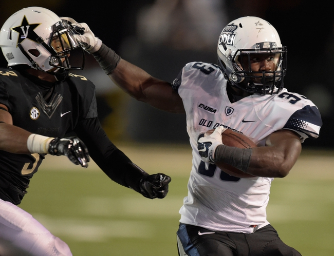 Eastern Michigan vs. Old Dominion - 9/5/15 College Football Pick, Odds, and Prediction