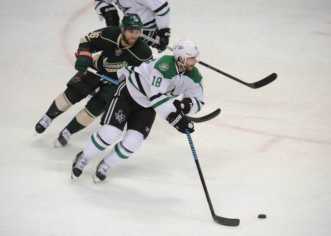 Stars vs. Wild - 11/15/14 NHL Pick, Odds, and Prediction