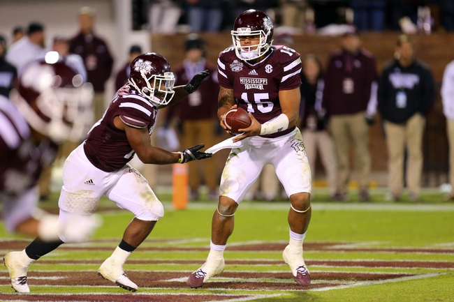 Mississippi State vs. Tennessee-Martin - 11/8/14 College Football Pick, Odds, and Prediction