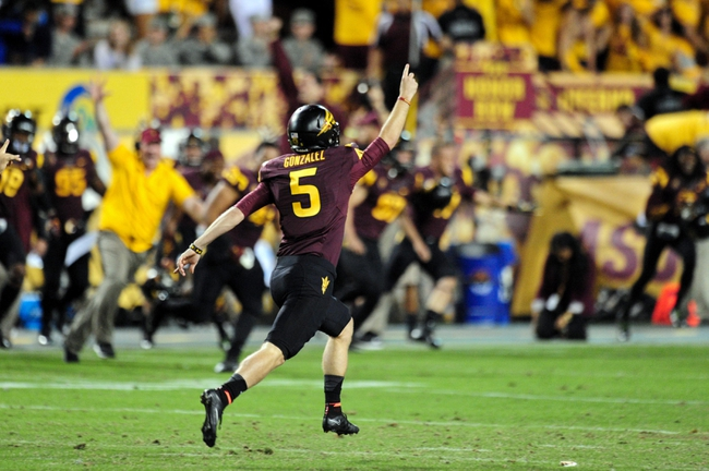 Arizona State vs. Notre Dame - 11/8/14 College Football Pick, Odds, and Prediction