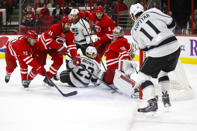 Los Angeles Kings vs. Carolina Hurricanes - 11/20/14 NHL Pick, Odds, and Prediction