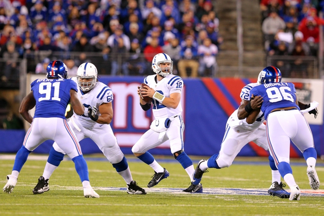 Indianapolis Colts at New York Giants 11/3/14 NFL Score, Recap, News and Notes