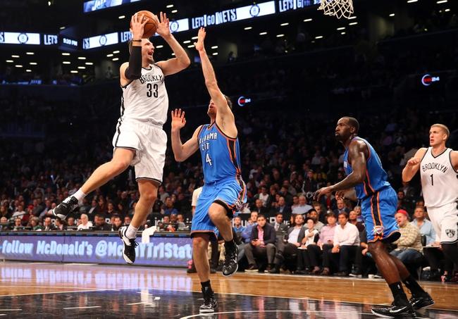 Oklahoma City Thunder vs. Brooklyn Nets - 11/21/14 NBA Pick, Odds, and Prediction