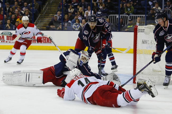 Carolina Hurricanes vs. Columbus Blue Jackets - 11/7/14 NHL Pick, Odds, and Prediction