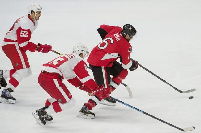 Red Wings vs. Senators - 11/24/14 NHL Pick, Odds, and Prediction