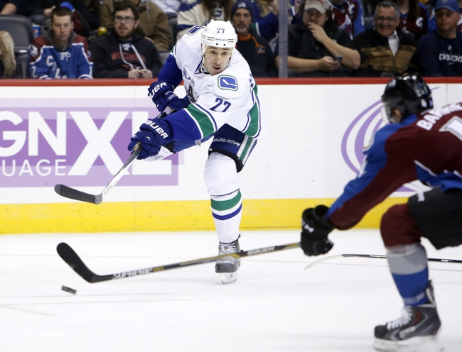 Vancouver Canucks vs. Colorado Avalanche - 3/26/15 NHL Pick, Odds, and Prediction