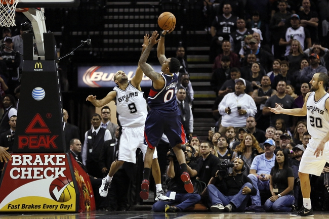 Hawks vs. Spurs - 3/22/15 NBA Pick, Odds, and Prediction