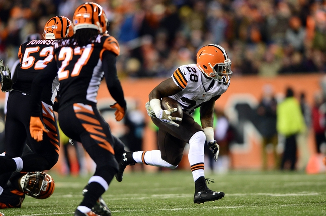Cleveland Browns at Cincinnati Bengals 11/6/14 NFL Score, Recap, News and Notes