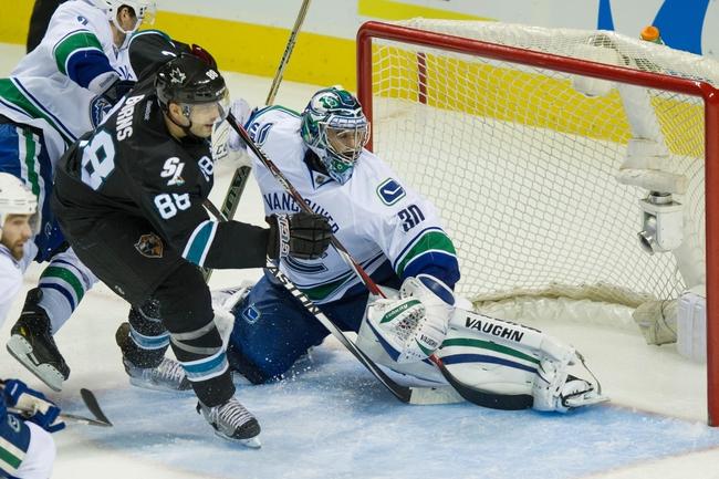 Sharks vs. Canucks - 12/30/14 NHL Pick, Odds, and Prediction