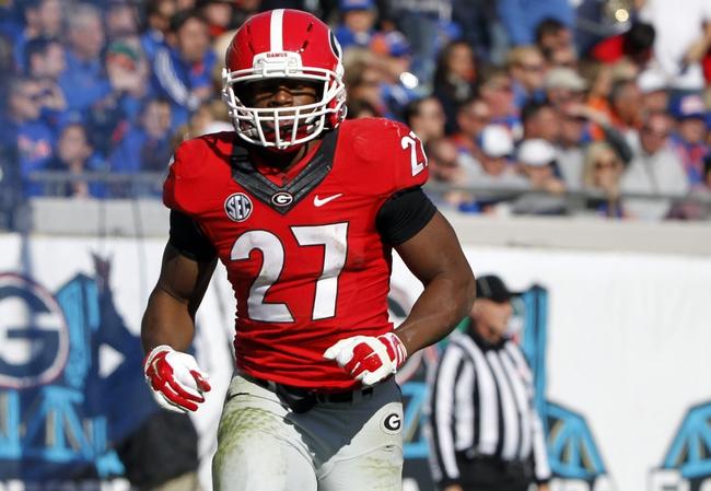 Georgia vs. Auburn - 11/15/14 College Football Pick, Odds, and Prediction