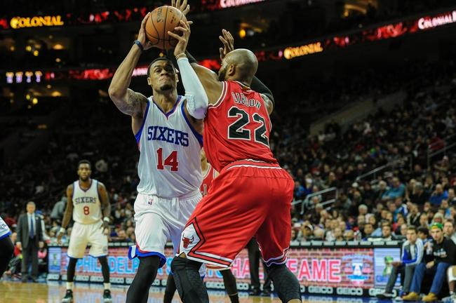 Philadelphia 76ers vs. Chicago Bulls - 3/11/15 NBA Pick, Odds, and Prediction