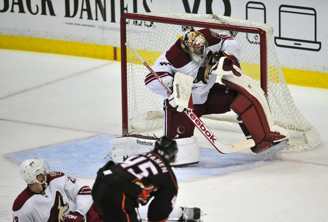 Ducks vs. Coyotes - 11/23/14 NHL Pick, Odds, and Prediction