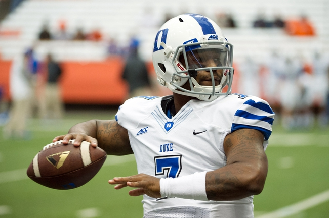 Duke Blue Devils vs. Virginia Tech Hokies - 11/15/14 College Football Pick, Odds, and Prediction