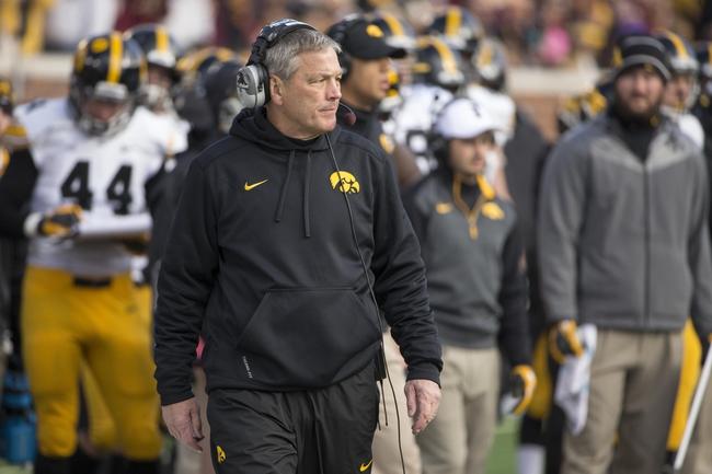 Illinois vs. Iowa - 11/15/14 College Football Pick, Odds, and Prediction