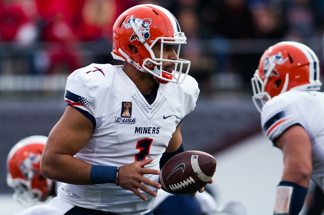 Utah State vs. UTEP - 12/20/14 New Mexico Bowl Pick, Odds, and Prediction