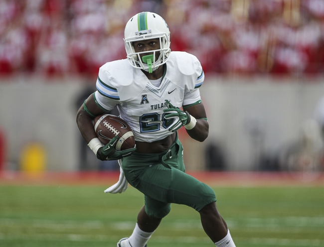 Memphis Tigers vs. Tulane Green Wave - 10/31/15 College Football Pick, Odds, and Prediction
