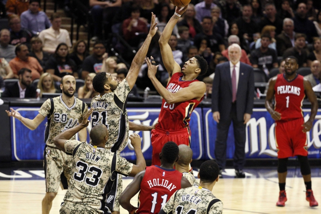 New Orleans Pelicans vs. San Antonio Spurs - 12/26/14 NBA Pick, Odds, and Prediction