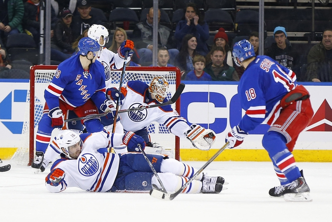 Edmonton Oilers vs. New York Rangers - 12/14/14 NHL Pick, Odds, and Prediction