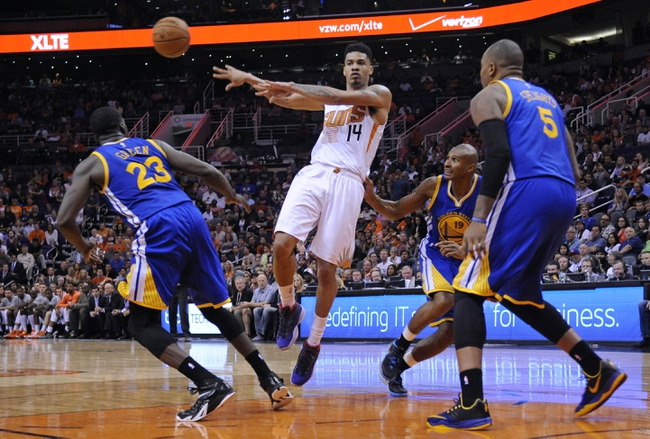 Golden State Warriors vs. Phoenix Suns - 1/31/15 NBA Pick, Odds, and Prediction