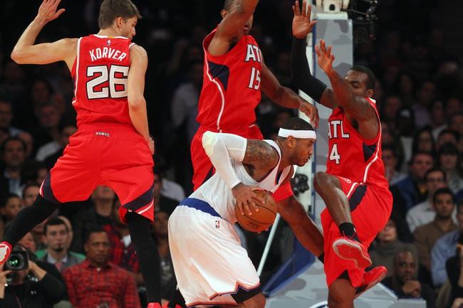 Knicks at Hawks - 4/13/15 NBA Pick, Odds, and Prediction