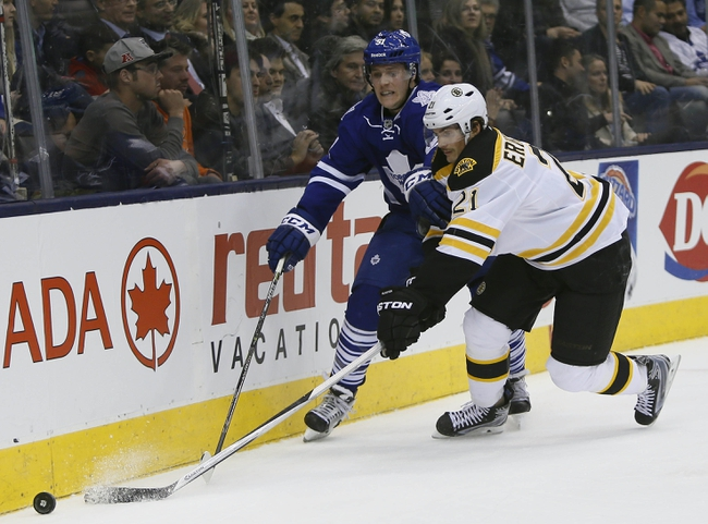 Bruins vs. Maple Leafs - 12/31/14 NHL Pick, Odds, and Prediction