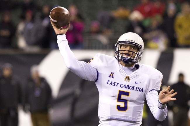 Tulsa vs. East Carolina - 11/28/14 College Football Pick, Odds, and Prediction