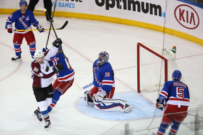 Colorado Avalanche vs. New York Rangers - 11/6/15 NHL Pick, Odds, and Prediction