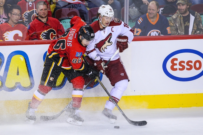Coyotes vs. Flames - 11/29/14 NHL Pick, Odds, and Prediction