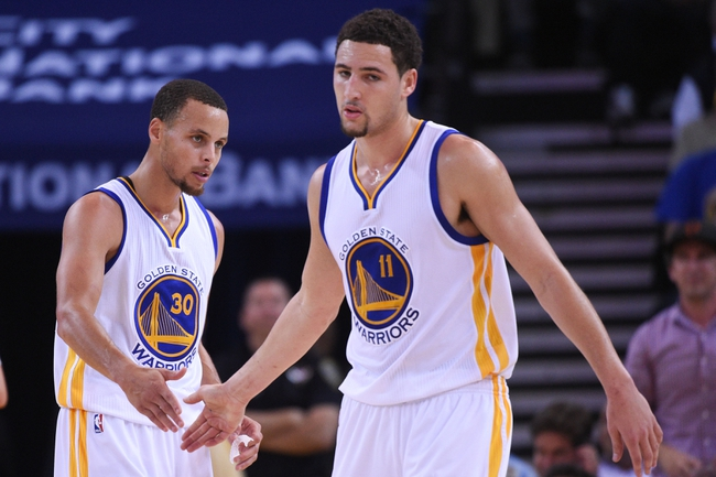 Golden State Warriors vs. Charlotte Hornets - 11/15/14 NBA Pick, Odds, and Prediction