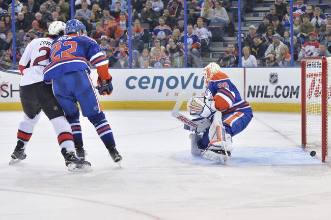Senators vs. Oilers - 2/14/15 NHL Pick, Odds, and Prediction