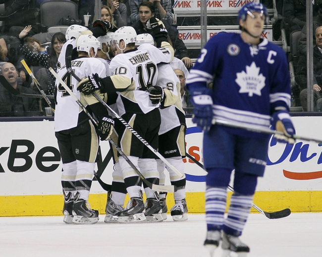 Pittsburgh Penguins vs. Toronto Maple Leafs - 11/26/14 NHL Pick, Odds, and Prediction