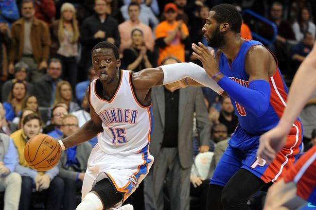 Detroit Pistons vs. Oklahoma City Thunder - 12/7/14 NBA Pick, Odds, and Prediction