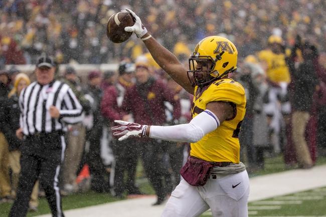 Nebraska vs. Minnesota - 11/22/14 College Football Pick, Odds, and Prediction
