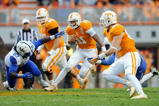 Tennessee vs. Missouri - 11/22/14 College Football Pick, Odds, and Prediction