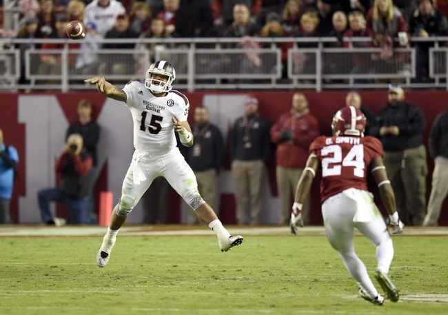Mississippi State vs. Vanderbilt - 11/22/14 College Football Pick, Odds, and Prediction
