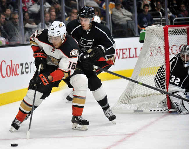 Kings vs. Ducks - 1/17/15 NHL Pick, Odds, and Prediction