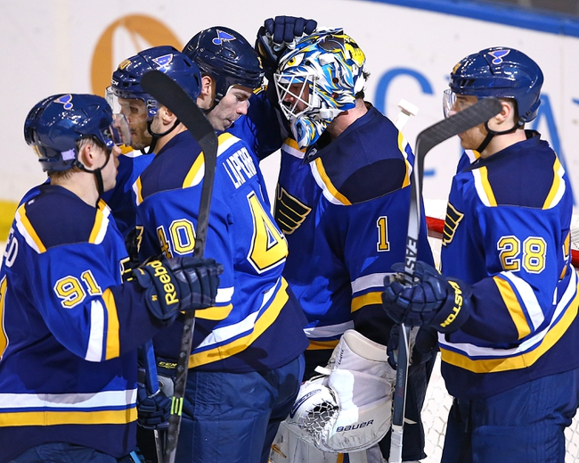 Washington Capitals vs. St. Louis Blues - 2/1/15 NHL Pick, Odds, and Prediction