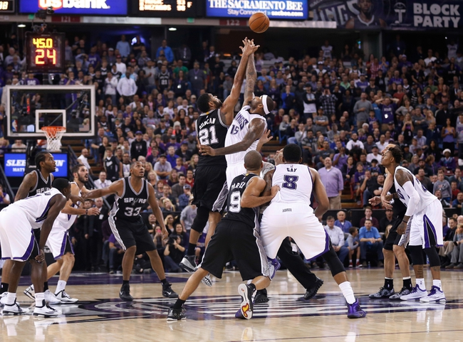 Spurs vs. Kings - 11/28/14 NBA Pick, Odds, and Prediction