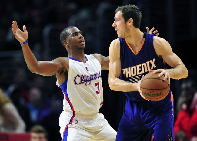 Los Angeles Clippers vs. Phoenix Suns - 12/8/14 NBA Pick, Odds, and Prediction