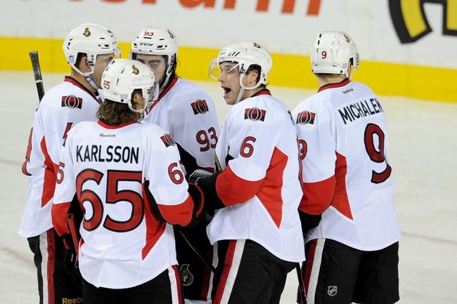 Ottawa Senators vs. Calgary Flames - 3/8/15 NHL Pick, Odds, and Prediction