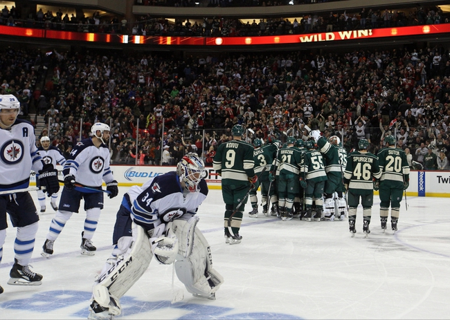 Wild vs. Jets - 12/27/14 NHL Pick, Odds, and Prediction