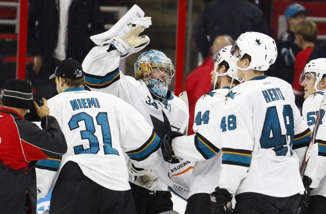 Carolina Hurricanes vs. San Jose Sharks - 2/19/16 NHL Pick, Odds, and Prediction