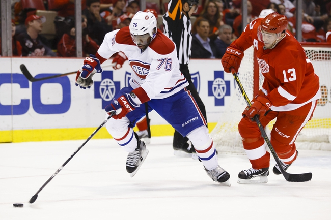 Red Wings vs. Canadiens - 2/16/15 NHL Pick, Odds, and Prediction